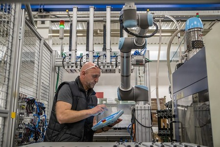 El nuevo interfaz de Universal Robots