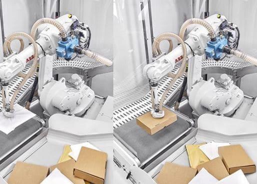 ABB se alía con Covariant para integrar IA en robots de logística